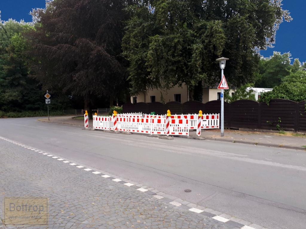 Bushaltestelle abgebaut