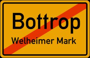 Ortsausgang Bottrop Welheimer Mark