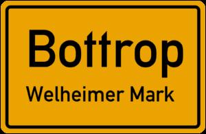 Ortseingang Bottrop Welheimer Mark